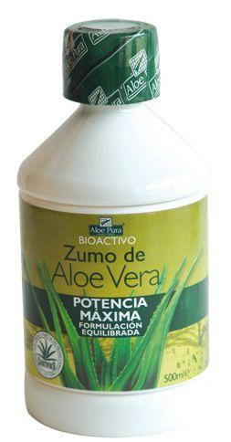 Aloe Pura Zumo Aloe Vera Potencia Máxima 500ml