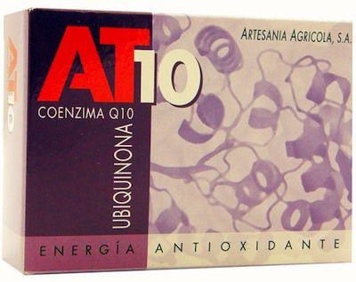 Artesanía Agrícola Coenzima Q10 AT10 30 cápsulas