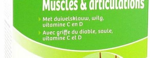 Laboratorio Biover Músculo y Articulaciones 45 comprimidos