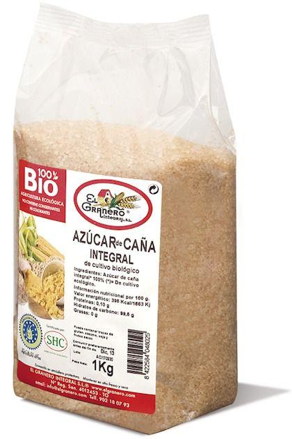 El Granero Integral Azúcar de Caña Integral Bio 1 Kilo