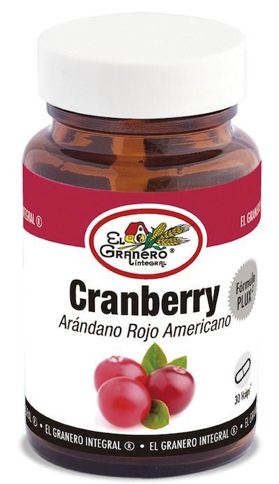 El Granero Integral Cranberry Fórmula Plux2 30 cápsulas 460mg