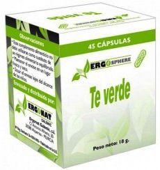 Ergonat Té Verde 45 cápsulas