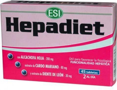 ESI Hepadiet 45 comprimidos