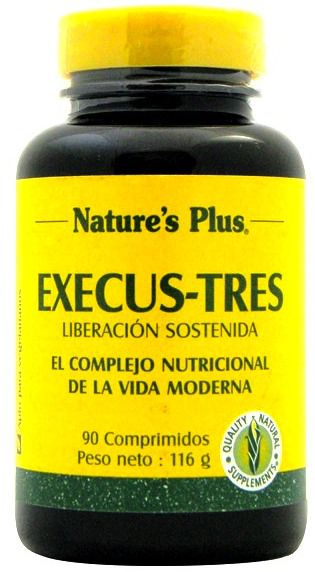 Nature's Plus Execu-Stress 60 comprimidos