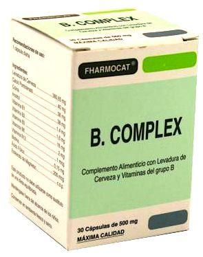 Fharmocat B-Complex 30 cápsulas