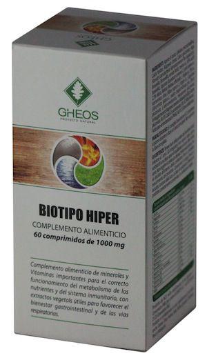 Gheos Biotipo Hiper 60 comprimidos