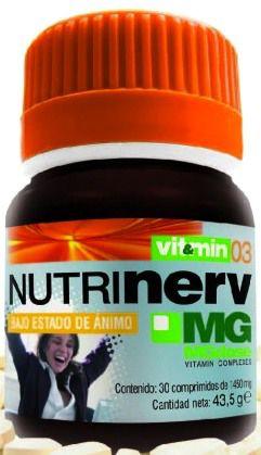 MGdose Nutrinerv 30 comprimidos