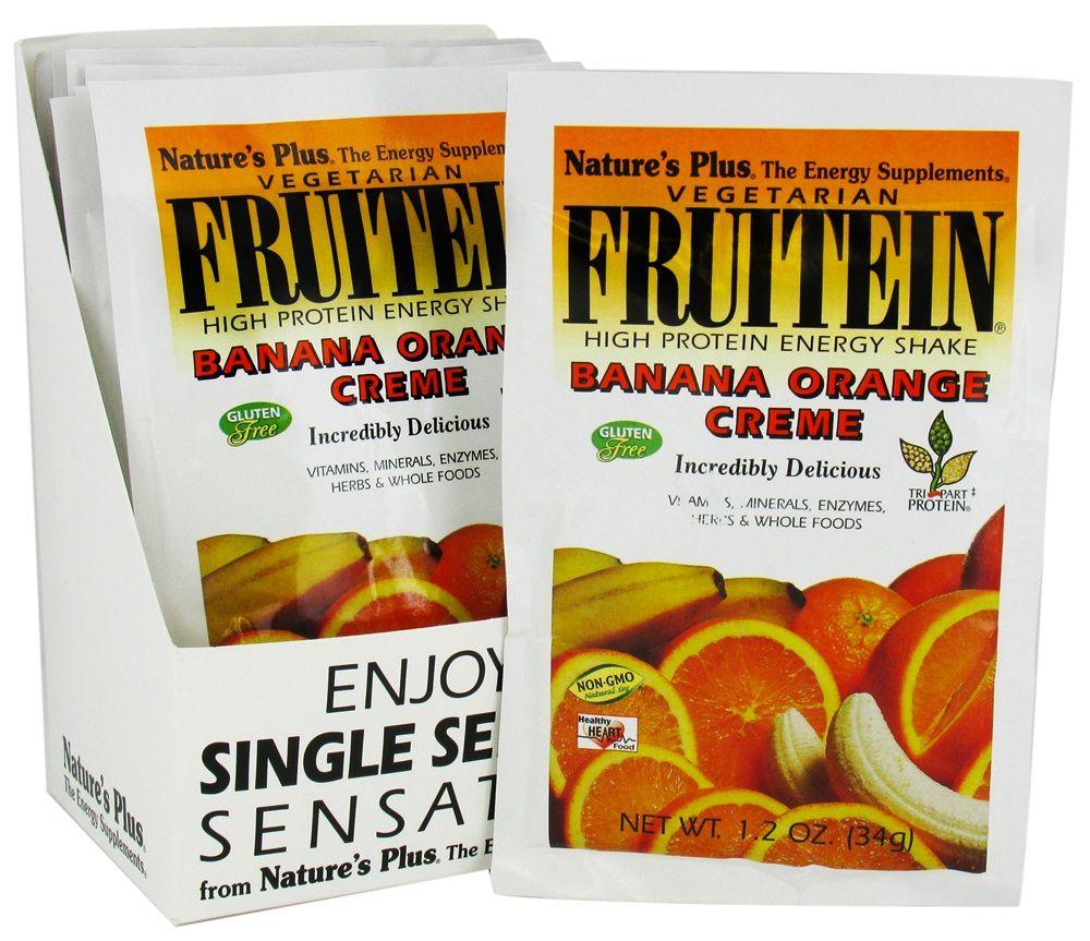 Nature's Plus Fruitein Plátano-Naranja 1 Sobre