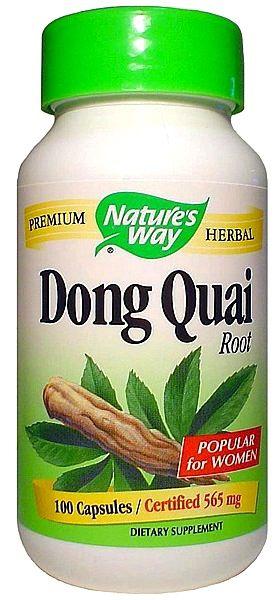 Nature's Way Dong Quai raíz 100 cápsulas