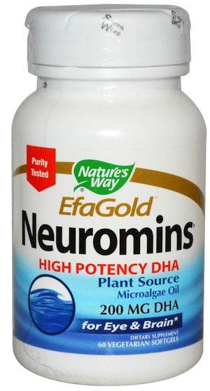 Nature's Way DHA EfaGold® Neuromins® 60 cápsulas