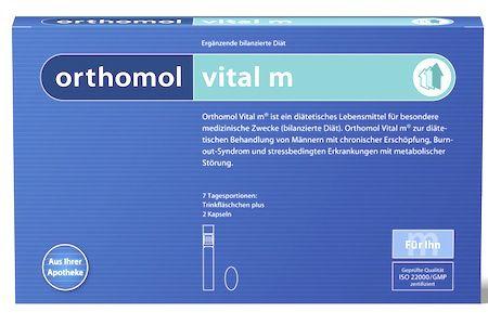 Orthomol Vital M 7 ampollas