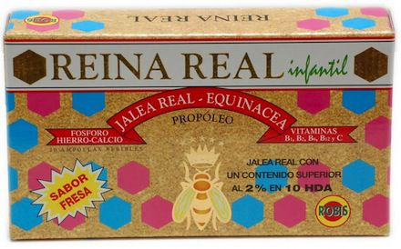 Robis Reina Real Infantil 20 ampollas