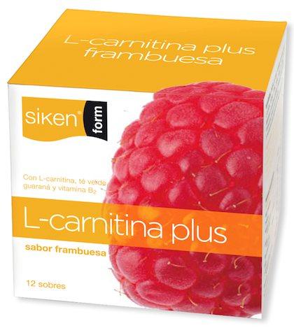 Sikenform L-Carnitina Frambuesa 12 sobres