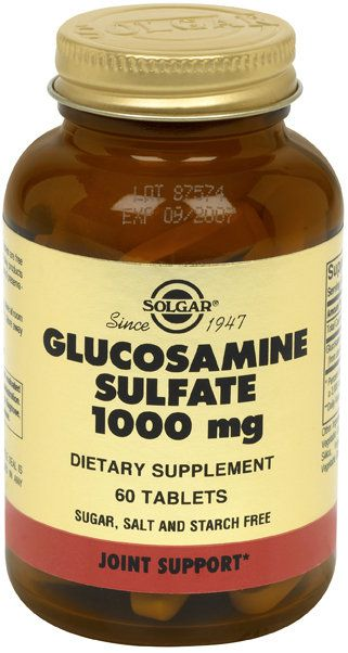 Solgar Glucosamina Sulfato 1000 mg 60 comprimidos
