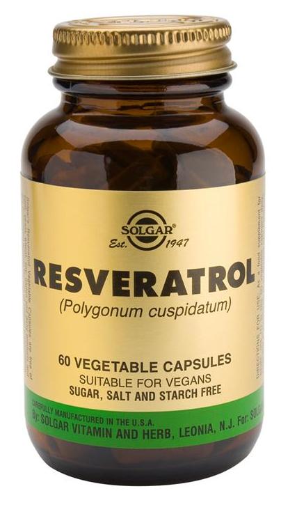 Solgar Resveratrol 60 cápsulas