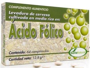 Soria Natural Ácido Fólico 60 comprimidos
