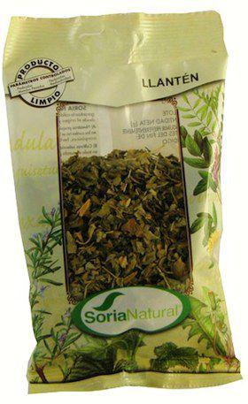 Soria Natural Llantén Bolsa 40g