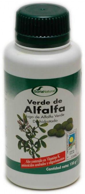 Soria Natural Verde de Alfalfa 300 comprimidos