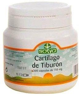 Sotya Cartílago de Tiburón 750mg 300 cápsulas