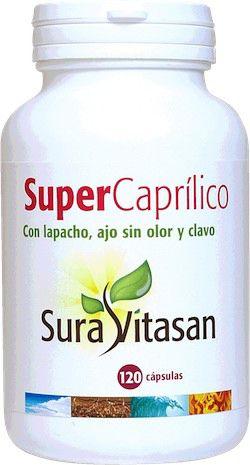 Sura Vitasan Super Caprílico 120 cápsulas