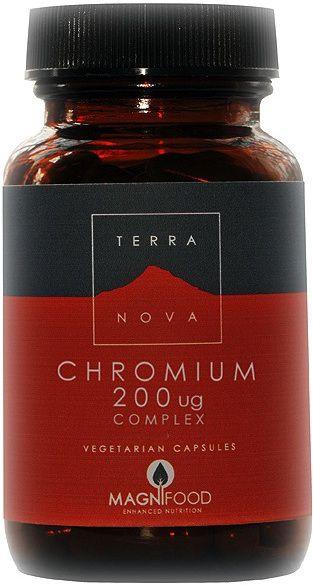 Terranova Cromo Complex 100 cápsulas