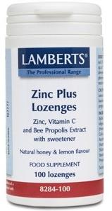 Lamberts Zinc Plus 100 pastillas